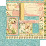Graphic 45 - Childrens Hour Collection - 12 x 12 Double Sided Paper - June Collective