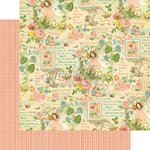 Graphic 45 - Childrens Hour Collection - 12 x 12 Double Sided Paper - June Montage