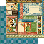 Graphic 45 - Childrens Hour Collection - 12 x 12 Double Sided Paper - August Collective