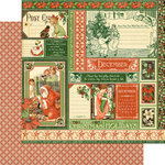 Graphic 45 - Childrens Hour Collection - 12 x 12 Double Sided Paper - December Collective