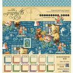 Graphic 45 - Childrens Hour Collection - 8 x 8 Paper Pad - Calendar