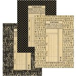 Graphic 45 - Staples Collection - Policy Envelopes - Regular - Black