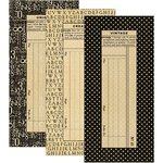 Graphic 45 - Staples Collection - Policy Envelopes - Large - Black