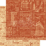 Graphic 45 - Cityscapes Collection - 12 x 12 Double Sided Paper - Street of Dreams