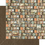 Graphic 45 - Cityscapes Collection - 12 x 12 Double Sided Paper - Well Traveled