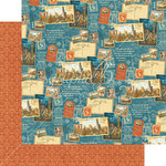 Graphic 45 - Cityscapes Collection - 12 x 12 Double Sided Paper - Passport to the World