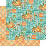 Graphic 45 - Voyage Beneath the Sea Collection - 12 x 12 Double Sided Paper - Neptune's Adventure