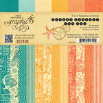 Graphic 45 - Voyage Beneath the Sea Collection - 6 x 6 Patterns and Solids Paper Pad