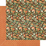 Graphic 45 - Enchanted Forest Collection - 12 x 12 Double Sided Paper - Sumptuous Floral