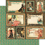 Graphic 45 - Enchanted Forest Collection - 12 x 12 Double Sided Paper - Gallant Knight