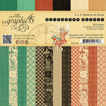 Graphic 45 - Enchanted Forest Collection - 6 x 6 Patterns and Solids Paper Pad