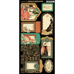 Graphic 45 - Enchanted Forest Collection - Cardstock Tags and Pockets