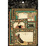 Graphic 45 - Enchanted Forest Collection - Ephemera Cards