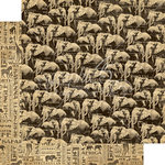 Graphic 45 - Safari Adventure Collection - 12 x 12 Double Sided Paper - Great Migration