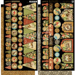 Graphic 45 - Safari Adventure Collection - Cardstock Banners