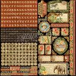 Graphic 45 - Safari Adventure Collection - 12 x 12 Cardstock Stickers