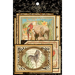 Graphic 45 - Safari Adventure Collection - Ephemera Cards