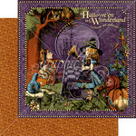 Graphic 45 - Halloween in Wonderland Collection - 12 x 12 Double Sided Paper - Halloween in Wonderland