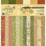 Graphic 45 - Safari Adventure Collection - 12 x 12 Patterns and Solids Paper Pad