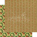 Graphic 45 - St Nicholas Collection - Christmas - 12 x 12 Double Sided Paper - North Pole