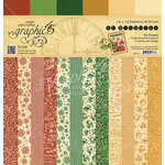 Graphic 45 - St Nicholas Collection - Christmas - 12 x 12 Patterns and Solids Paper Pad