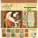 Graphic 45 - St Nicholas Collection - Christmas - 12 x 12 Paper Pad