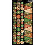 Graphic 45 - St Nicholas Collection - Christmas - Cardstock Banners