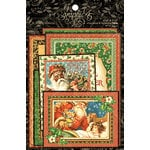 Graphic 45 - St Nicholas Collection - Christmas - Ephemera Cards