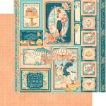 Graphic 45 - Cafe Parisian Collection - 12 x 12 Double Sided Paper - Creme de la Creme