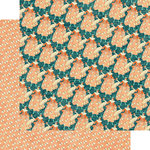 Graphic 45 - Cafe Parisian Collection - 12 x 12 Double Sided Paper - Crepe Suzette