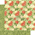 Graphic 45 - Off to the Races Collection - 12 x 12 Double Sided Paper - Run for the Roses