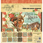 Graphic 45 - Off to the Races Collection - 12 x 12 Paper Pad