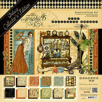 Graphic 45 - Olde Curiosity Shoppe Collection - Deluxe Collector's Edition - 12 x 12 Papercrafting Kit
