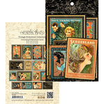 Graphic 45 - Vintage Hollywood Collection - Ephemera Cards