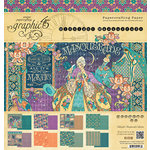 Graphic 45 - Midnight Masquerade Collection - 12 x 12 Paper Pad