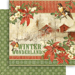 Graphic 45 - Winter Wonderland Collection - Christmas - 12 x 12 Double Sided Paper - Winter Wonderland