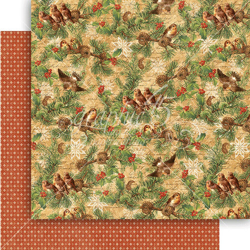 Graphic 45 - Winter Wonderland Collection - Christmas - 12 x 12 Double Sided Paper - Woodland Whimsy