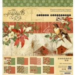 Graphic 45 - Winter Wonderland Collection - Christmas - 8 x 8 Paper Pad