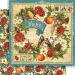 Graphic 45 - Seasons Collection - 12 x 12 Double Sided Paper - Winter