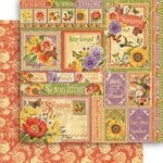 Graphic 45 - Seasons Collection - 12 x 12 Double Sided Paper - Summer Collective
