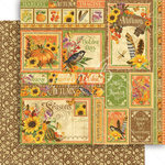 Graphic 45 - Seasons Collection - 12 x 12 Double Sided Paper - Autumn Collective