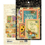 Graphic 45 - Seasons Collection - Ephemera and Journaling Cards