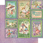 Graphic 45 - Fairie Dust Collection - 12 x 12 Double Sided Paper - Dreamland