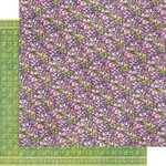 Graphic 45 - Fairie Dust Collection - 12 x 12 Double Sided Paper - Violet Vale