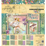 Graphic 45 - Fairie Dust Collection - 8 x 8 Paper Pad