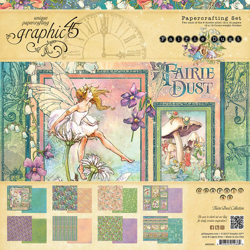 Graphic 45 - Fairie Dust Collection - 12 x 12 Collection Kit