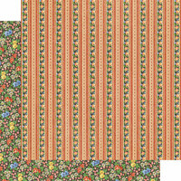 Graphic 45 - Little Women Collection - 12 x 12 Double Sided Paper - Boundless Beauty