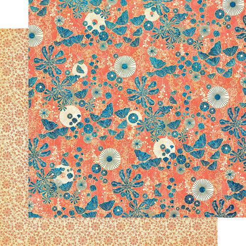 Graphic 45 - Sun Kissed Collection - 12 x 12 Double Sided Paper - Under the Sea
