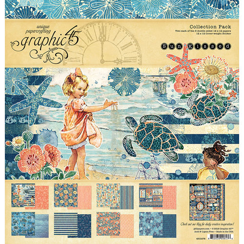 Graphic 45 - Sun Kissed Collection - 12 x 12 Collection Kit