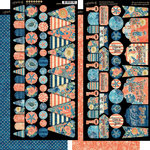 Graphic 45 - Sun Kissed Collection - Cardstock Banners